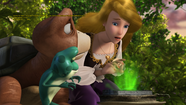 Odette wants to finds out what messeges brings The Glowing Stone