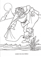 Swan Princess official coloring page 38