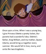 Swan Princess Derek's tale page 1