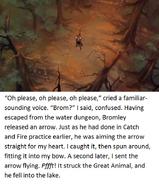 Swan Princess Derek's tale page 19