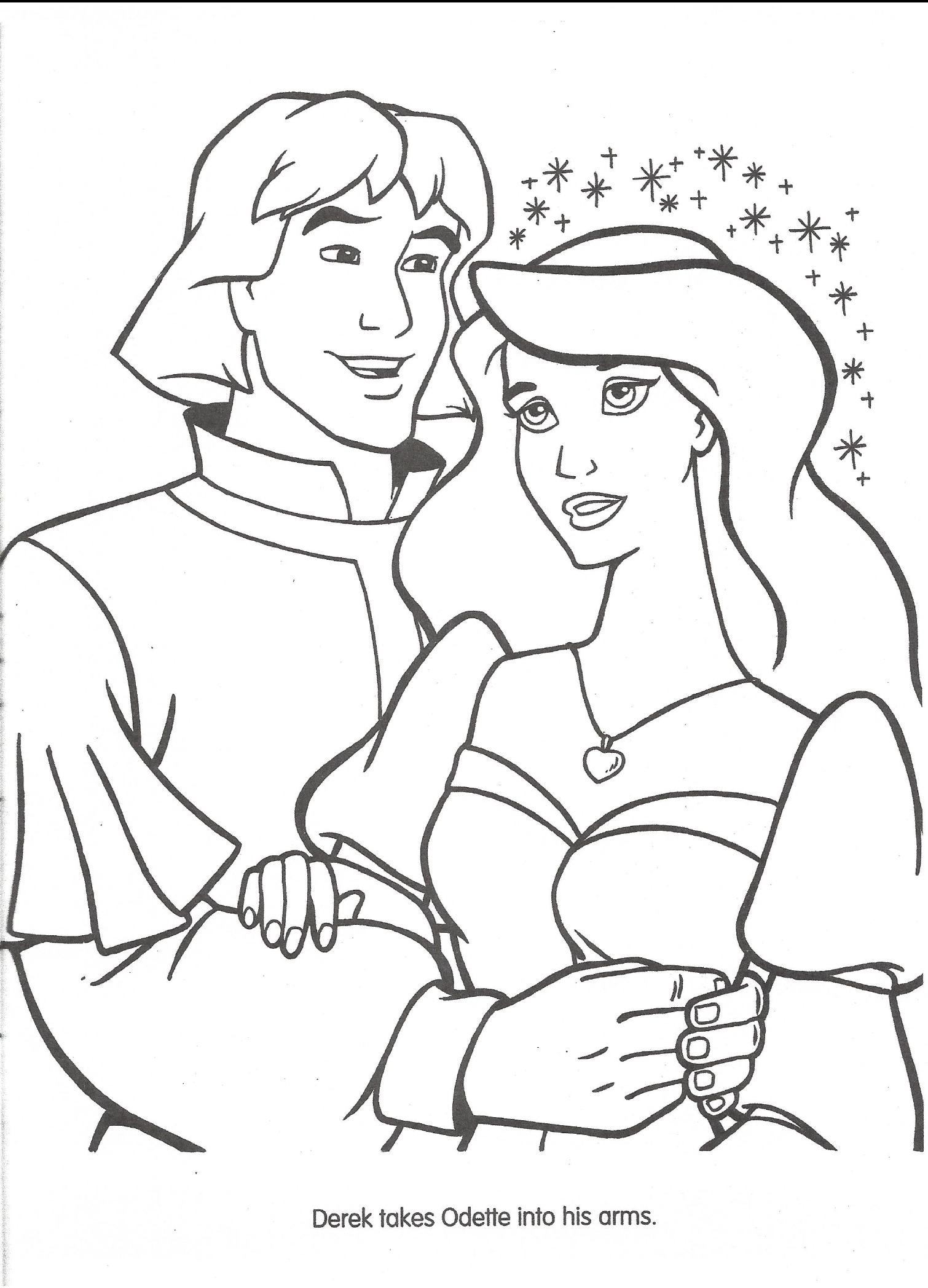 Image Swan Princess official coloring page 36png The Swan