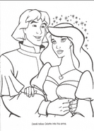 Swan Princess official coloring page 36
