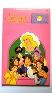 RARE 1994 THE SWAN PRINCESS MOVIE PROMO COLORING AND ACTIVITY BOOK - CARTOON PAD