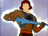 Prince Derek as He-Man