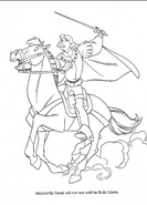 Swan Princess official coloring page 24