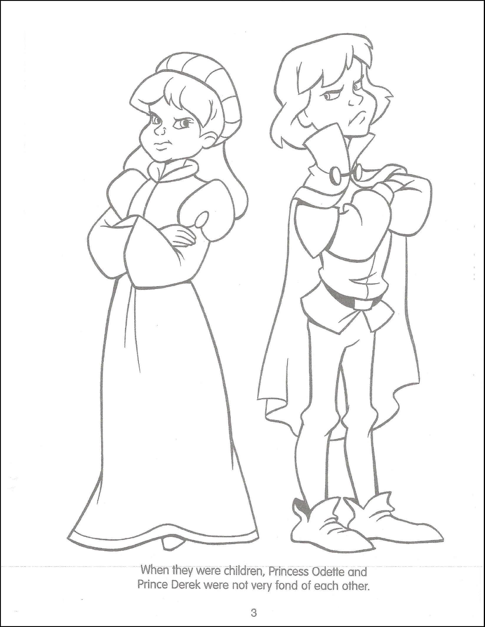 Image - Swan Princess Funtime Activity Book page 3.png ...