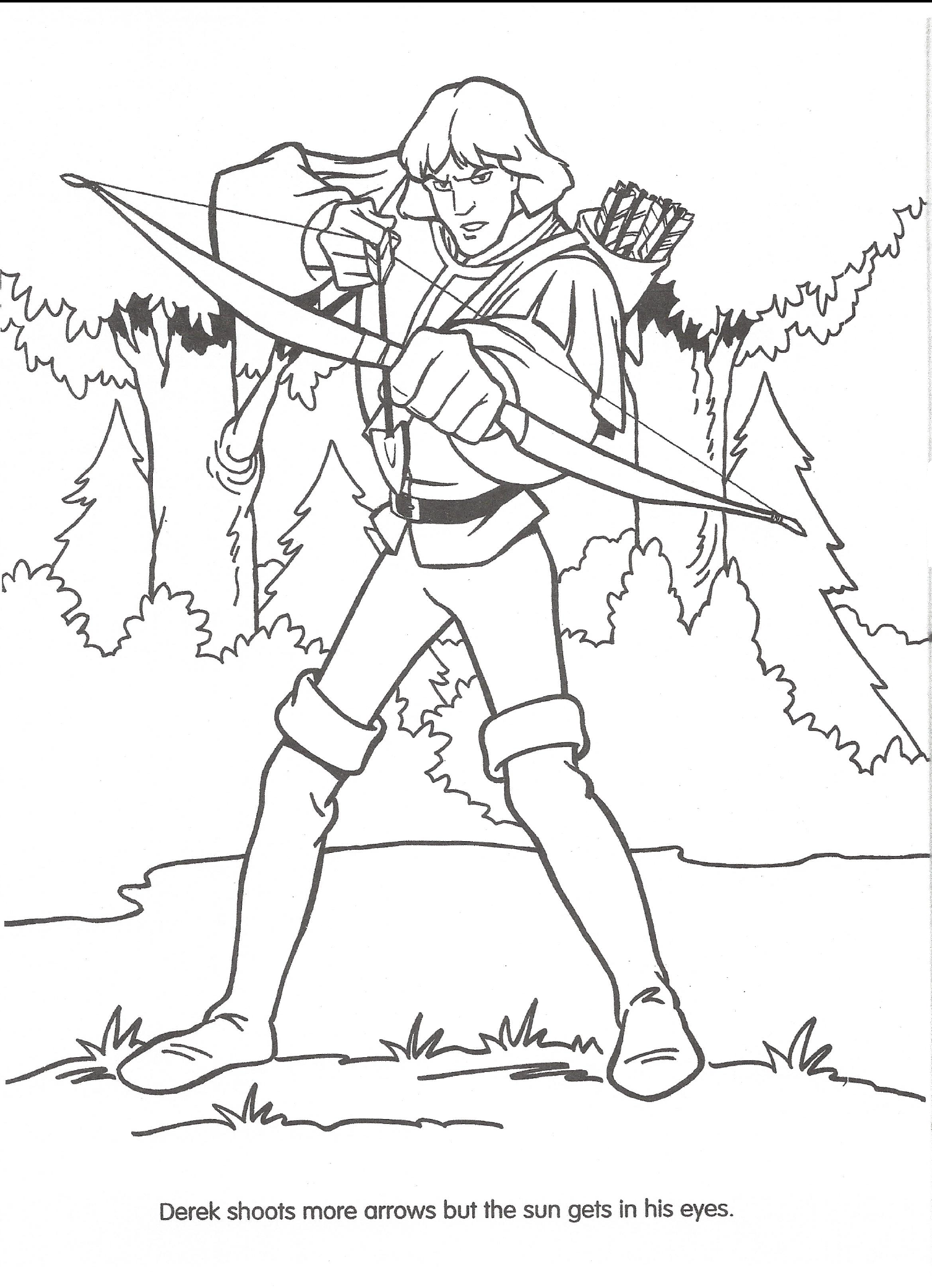 image swan princess official coloring page 31 png the swan
