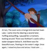 Swan Princess Derek's tale page 9
