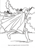 Swan Princess official coloring page 44