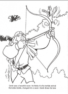Swan Princess official coloring page 29