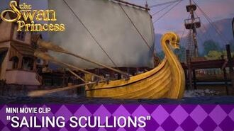 Sailing Scullions Mini Movie from The Swan Princess