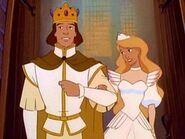 King Derek and Queen Odette.
