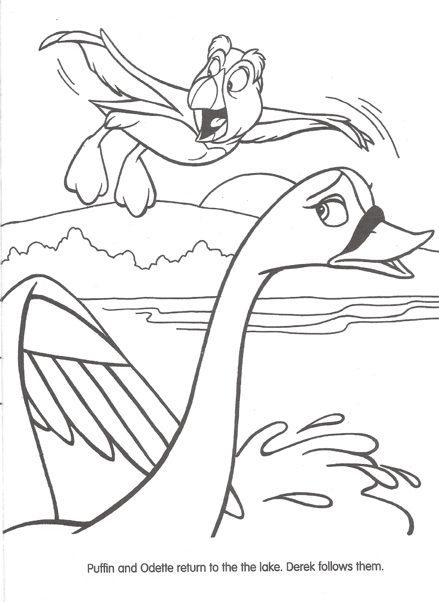 Image - Swan Princess official coloring page 32.png | The Swan ...