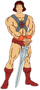 Prince Derek as He-Man 2