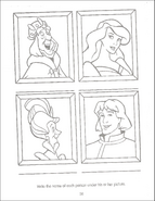 Swan Princess Funtime Activity Book page 36