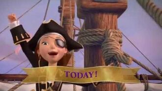 Princess Tomorrow, but a Pirate Today Sing Along Music Video