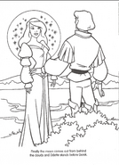 Swan Princess official coloring page 35
