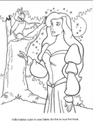 Swan Princess official coloring page 19