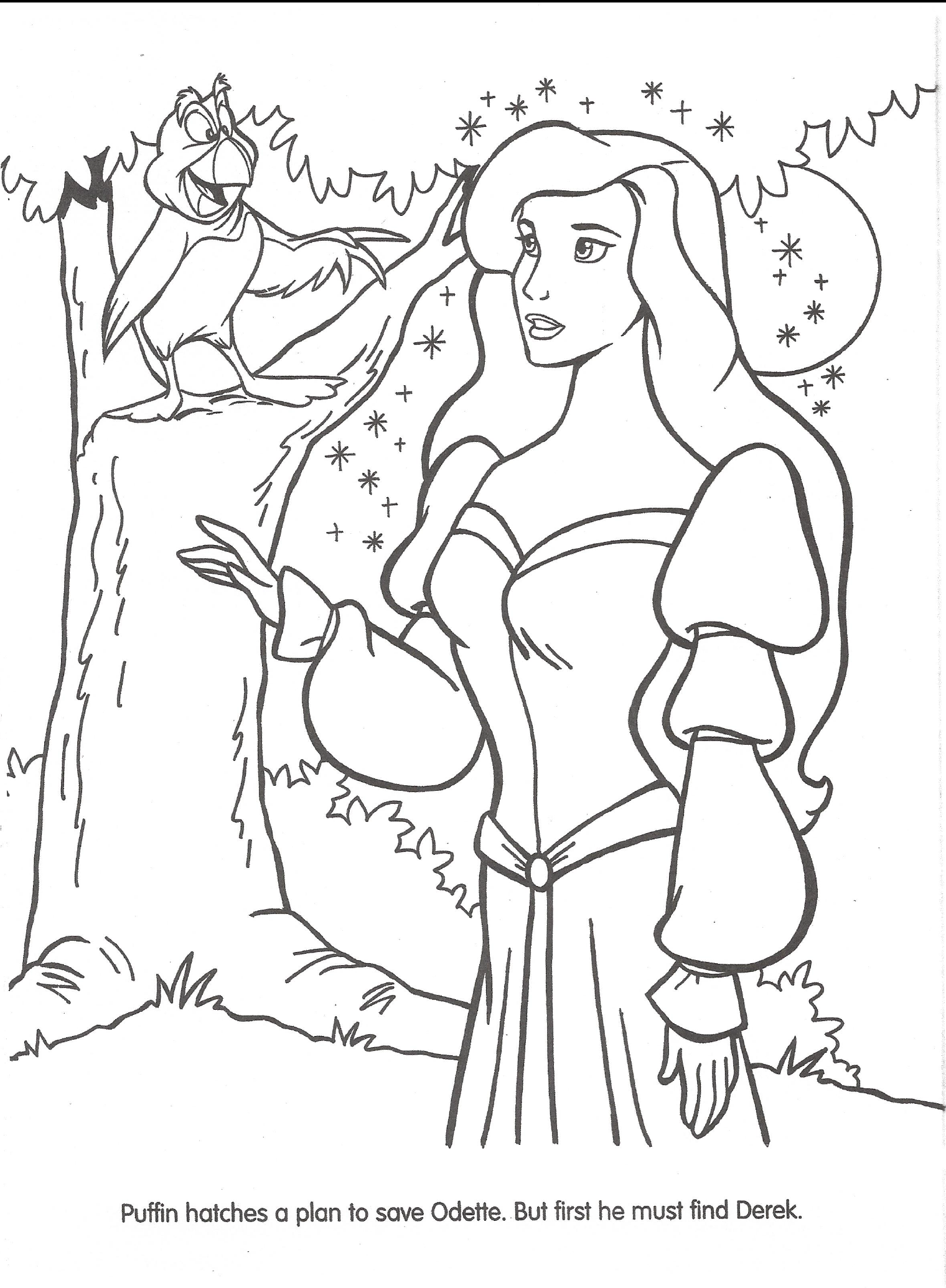 Image - Swan Princess official coloring page 19.png | The Swan ...