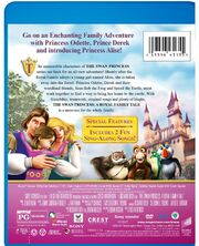 The Swan Princess a royal family tale dvd cover 2