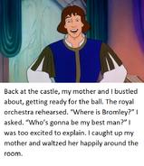 Swan Princess Derek's tale page 11