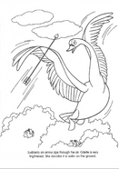 Swan Princess official coloring page 26