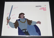 SCARCE DEREK ANIMATION CEL