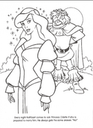 Swan Princess official coloring page 17