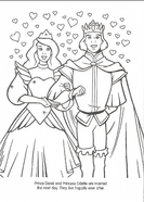 Swan Princess official coloring page 47