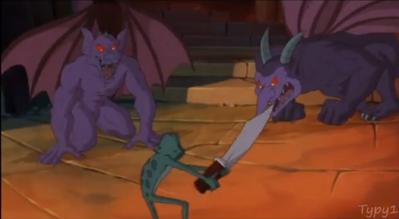 Purple Gargoyles