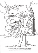 Swan Princess official coloring page 14