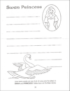 Swan Princess Funtime Activity Book page 28