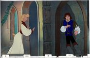 THE SWAN PRINCESS Original Production Animation PAN Cel & Copy Bkgd SPPAN5