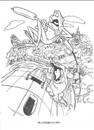Swan Princess official coloring page 20