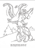 Swan Princess official coloring page 22