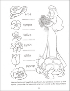 Swan Princess Funtime Activity Book page 19