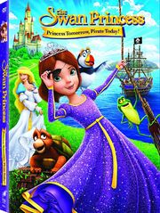 The Swan Princess 6th movie DVD cover