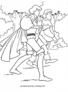 Swan Princess official coloring page 25