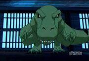 Beast boy t rex