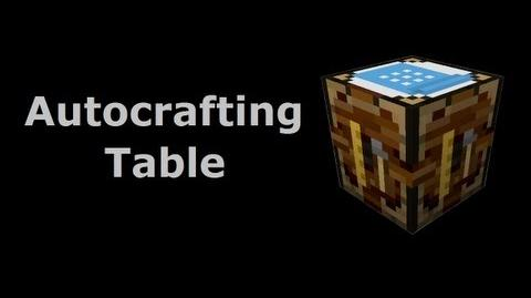 Automatic Crafting Table The Tekkit Classic Wiki