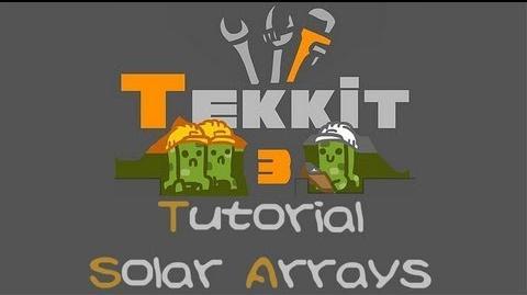 Solar Arrays The Tekkit Classic Wiki Fandom Powered By