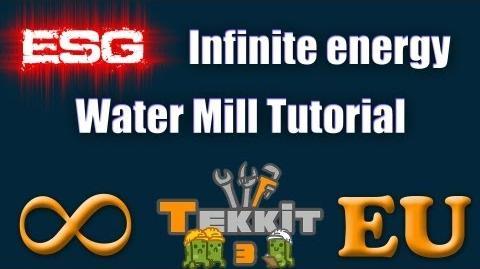 Water Mill The Tekkit Classic Wiki Fandom Powered By Wikia