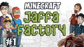 Jaffa Factory 1 - Jaffa Cake Factory Planning (Tekkit)