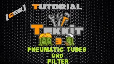 Minecraft Tekkit Classic Tutorial DE HD - Pneumatic Tubes und Filter