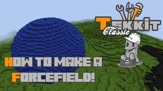 Tekkit Classic - How to make a ForceField!
