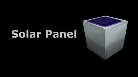 Solar Panel - Industrial-Craft In Minutes