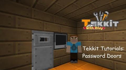 Tutorial/Easy Passworded Door