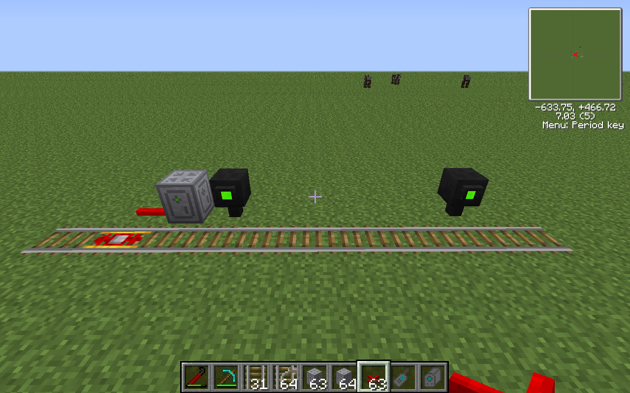 Basic Signalling The Tekkit Classic Wiki Fandom Powered By Wikia Redstone Wiring Mod Receiver Should Be Left In Its Default State Of Only Outputting A Current When It Receives Green Signal Compact Example Is Shown Below
