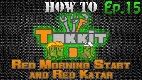 How to Tekkit - Red Morning Star and Red Katar