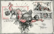 Ploog Blair Monster concept art - The Thing (1982)